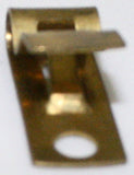 Brass Fahnestock Clips Pk/200 Solid Brass Electrical Connector
