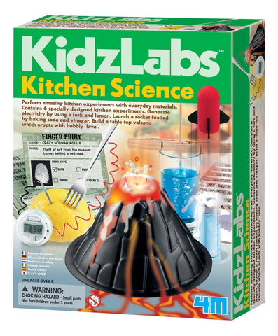 4M Kidz Labs: Kitchen Science Kit; 6 Experiments