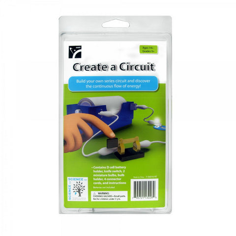 AMEP Create a Circuit Experiment Kit - STEM – Online Science Mall
