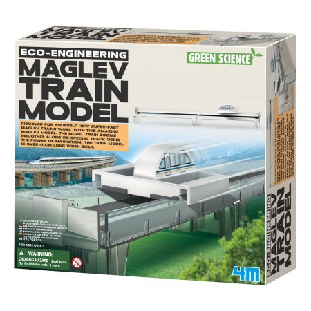 4M Eco-Engineering Maglev Train Model by ToySmith