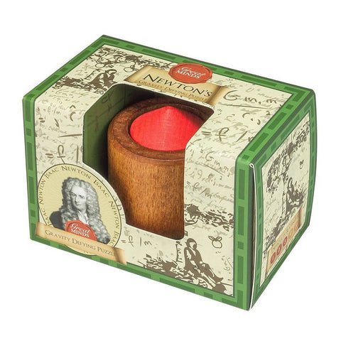 The Great Minds - Newton's Gravity Defying Wooden Puzzle