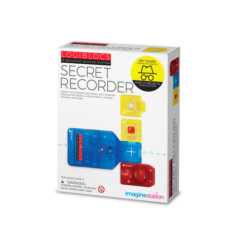 Logiblocs e-Building Blocks System Secret Recorder Kit by 4M