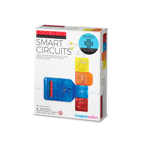 Logiblocs e-Building Blocks System Smart Circuits Kit by 4M
