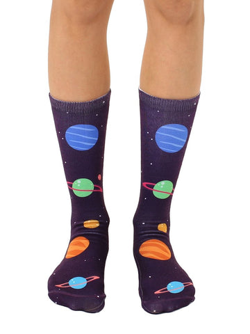 Planets Crew Socks OSFM by Living Royal