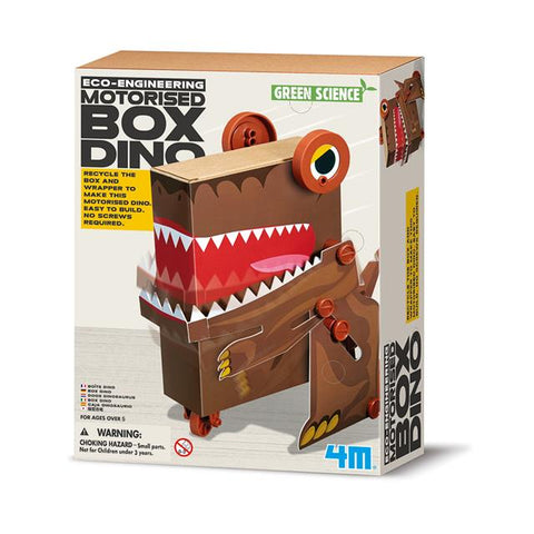 4M Eco-Engineering Motorised Box Dino Kit