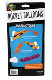Yay! 15 Rocket Balloons with Pump