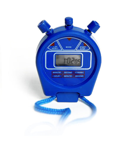10 Digital Stopwatches Stop Watch 1/100th Second Alarm Date