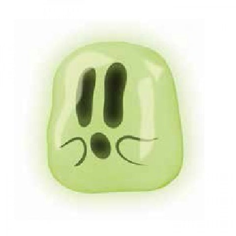 Sticky the Boo Squishy Glow-In-The-Dark Ghost Splat Ball by Hog Wild