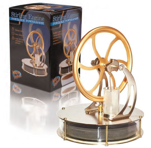 Stirling Engine Portable Powerhouse - Physics Classroom Experiment