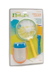BATTAT Little Bug Catcher Kit  Preschool Toy 3 pc