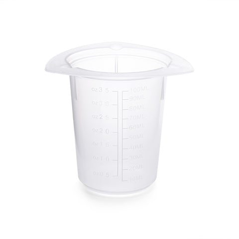 Disposable Polypropylene Tri-Pour Beaker: 800ml, 100/PK