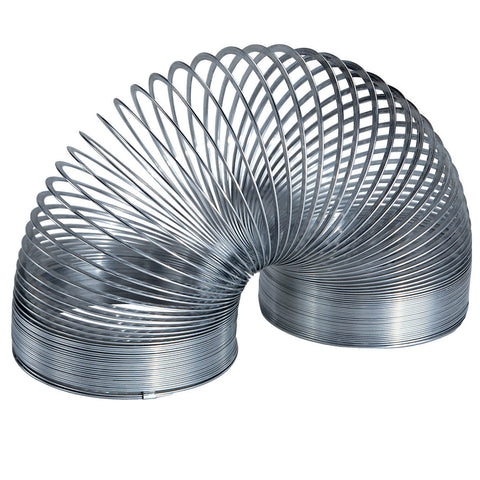 60mm x 75mm Metal Coiled Spring Waveform Toy