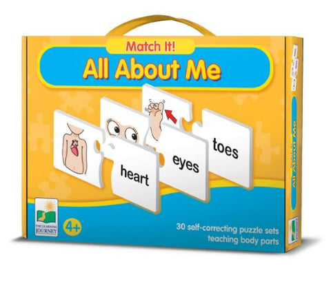 Match It! ALL ABOUT ME Activity-30 Puzzle Pairs