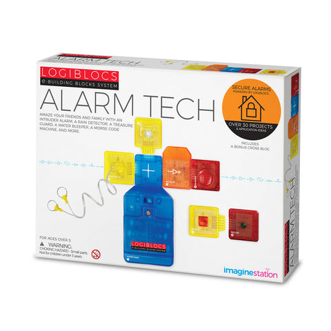 Logiblocs e-Building Blocks System Alarm Tech Kit by 4M