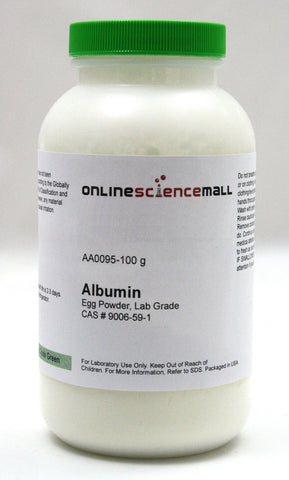 Albumin Egg Powder, 100g - Lab Grade Chemical Reagent