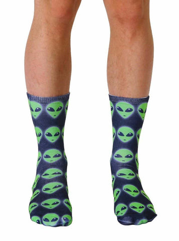 Alien Crew Socks OSFM by Living Royal