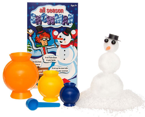 Be Amazing! All Season Snowman Science STEM Activity Kit
