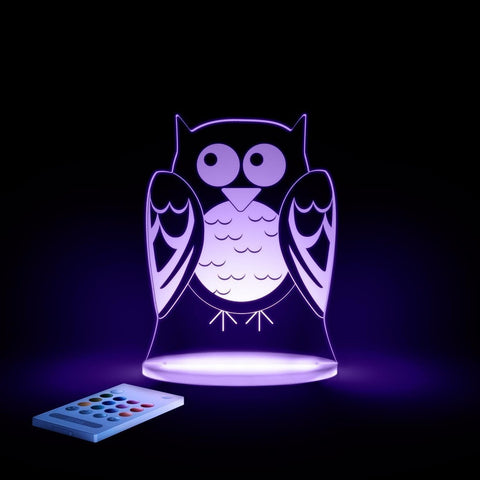 Owl SleepyLights Multi-Color LED Night Light