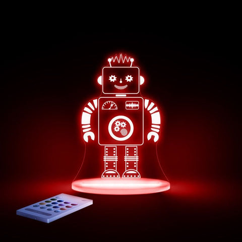 Robot SleepyLights Multi-Color LED Night Light