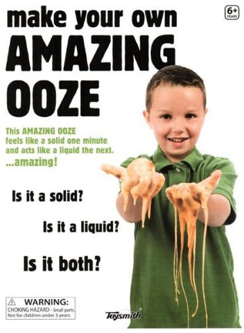 Make Your Own Amazing Ooze/Slime Science Kit by Toysmith