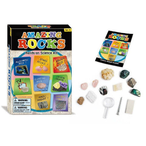 Amazing Rocks Science Discovery Kit by TedCo Toys