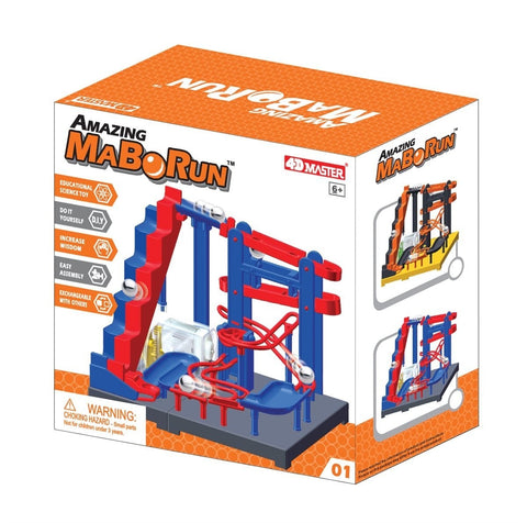 Amazing Stair Climber Marble Run - Mabo Run, Colors Vary