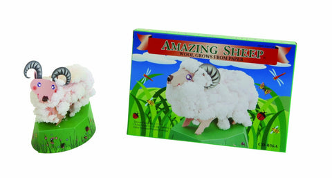 Amazing Sheep Grow Wool From Paper
