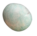Amazonite Freeform Hand Polished - Colors Vary - 1.25  Inches w Info Card