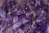 10 Pounds Unpolished Amethyst Gemstone Crystals - Bulk 750+ Pieces Rough Mineral