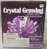 Amethyst Purple Crystal Growing Box  Kit 6 Colors Available