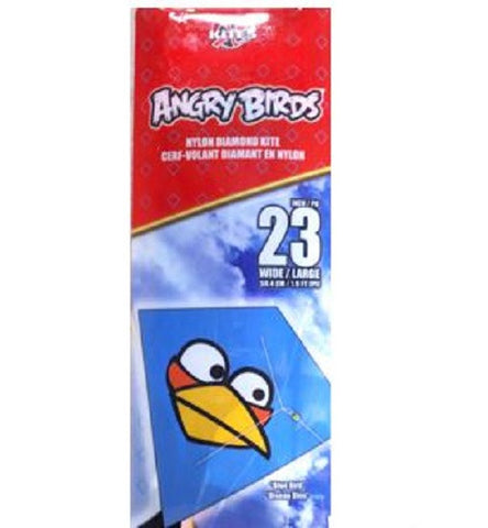X Kites Angry Birds Nylon Diamond Kite Blue Bird