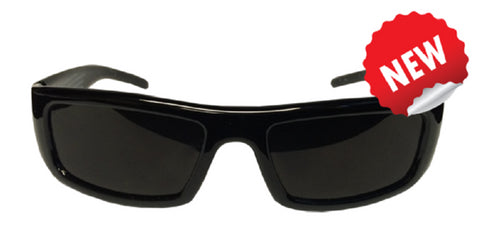 The Eclipser HD Safe Solar Viewer, CE Certified, Plastic Glasses w Black Frame