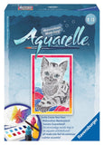 Aquarelle Mini  WaterColor Arts & Crafts Kit by Ravensburger -CAT