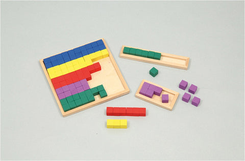 Math Cube and Wooden Frame Set Kit by Artec