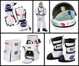 Deluxe Jr. Astronaut Suit Set with Cap, Boots, Gloves, Helmet & Backpack