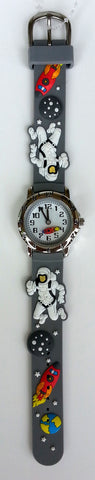 The Kids Watch Company Astronaut Watch One Size Grey Band