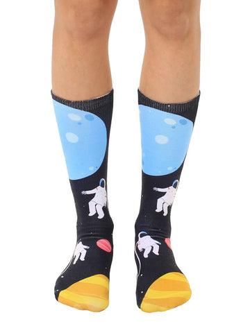 Astronauts Crew Socks OSFM by Living Royal