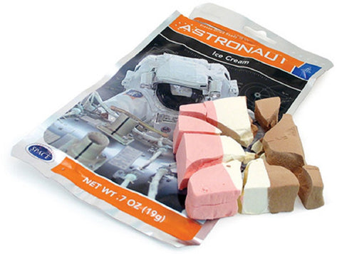 Astronaut Space Ice Cream Freeze Dried Neopolitan