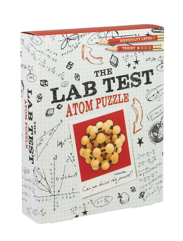 Atom Puzzle: The Lab Test - Level 1 Tricky Brain Teaser