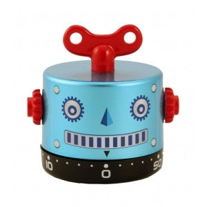 60 Minute BLUE ROBOT Timer- Kitchen & Teaching Aid