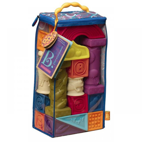 B. Elemenosqueeze Blocks Soft Building Blocks Set