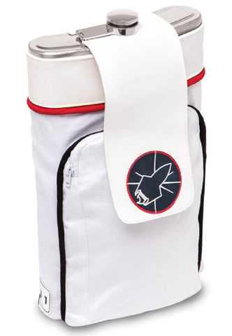 Space Backpack Flask 64oz - Stainless Steel Barware