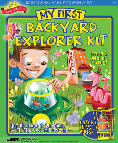 Scientific Explorer's My First Backyard Explorer Activity Kit by Poof-Slinky