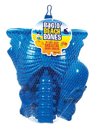 Bag-O-Beach Bones 14 Piece Sand Molding Toy Set by Toysmith