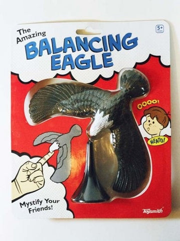 Balancing Eagle Center of Gravity Physics Toy 6.75 inch Wing Span