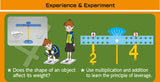 Balancing Numbers Experiment Kit and Study Guide By Artec