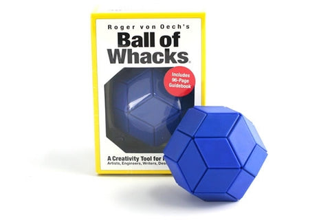 Roger von Oech's Ball of Whacks BLUE Creativity Tool