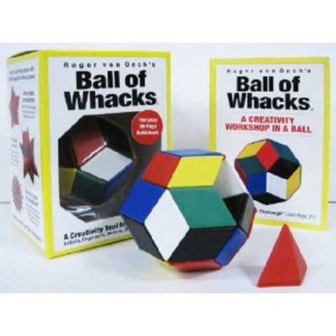 Roger von Oech's Ball of Whacks MULTI Creativity Tool