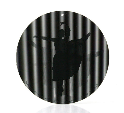 Dancing Ballerina - Medium 5.5 Inch CineSpinner - Animated Suncatcher
