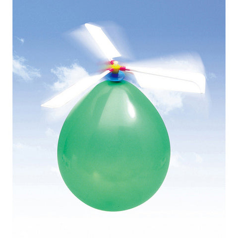 Balloon Helicopter for Demonstrating Air Pressure By Artec